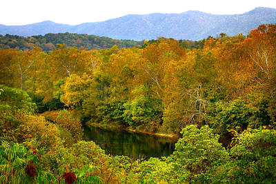 Photograph - Shenandoah River by Mark Andrew Thomas