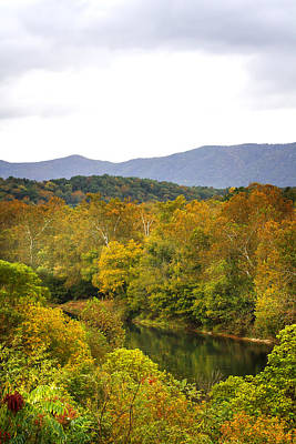 Photograph - Shenandoah River Run by Mark Andrew Thomas