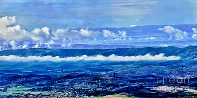 Photograph - Shenandoah Valley Panoramic by Dawn Gari