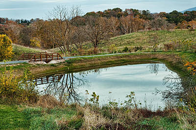 Photograph - Shenandoah Valley Reflection by Lara Ellis