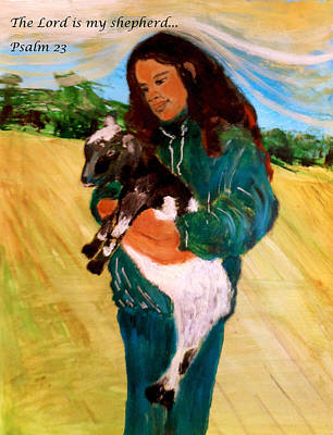 Painting - Shepherd by Amanda Dinan