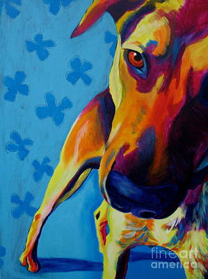 Shepherd Mix - Soul Search Original by Alicia VanNoy Call