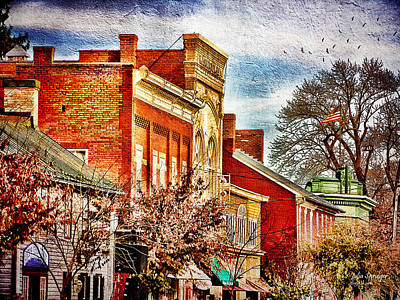 Photograph - Shepherdstown - East German Street In November by Julia Springer