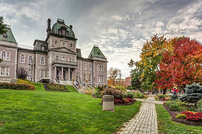 Photograph - Sherbrooke City Town Hall by Pierre Leclerc Photography