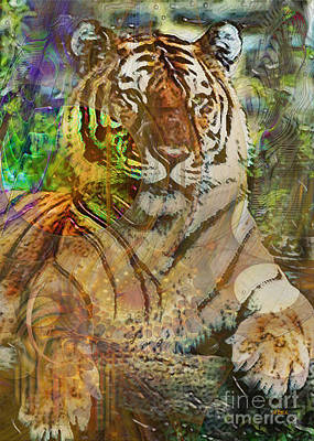 Digital Art - Shere Khan by John Beck