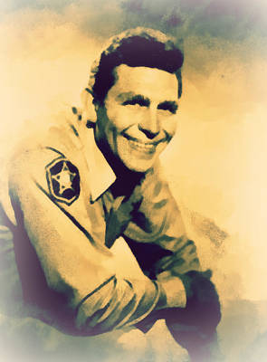 Photograph - Sheriff Andy Taylor by Paulette B Wright