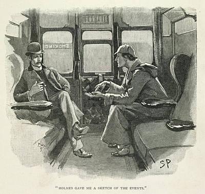 Watson Photograph - Sherlock Holmes And Dr. Watson by British Library