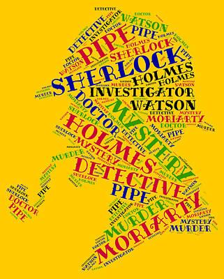 Sherlock Holmes Art Print by Bruce Nutting