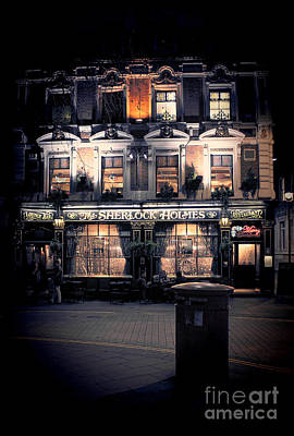 Great Mysteries Photograph - Sherlock Holmes Pub by Jasna Buncic
