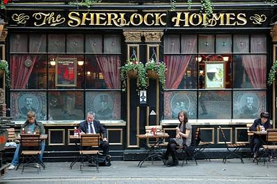 Photograph - Sherlock Holmes Pub London by Steven Richman