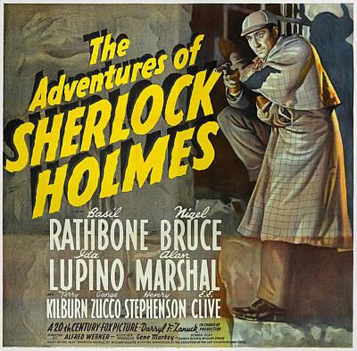 Fox Digital Art - Sherlock Holmes by Unknown