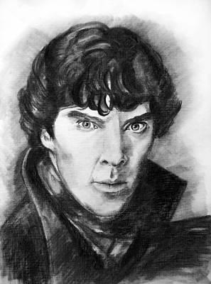 Sherlock  Art Print by Yana Biryukova