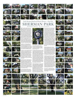 Digital Art - Sherman Boulevard East by Geoff Strehlow