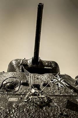 Sherman M4a1 Art Print
