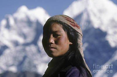 Photograph - Sherpa Woman - Mt Everest by Craig Lovell