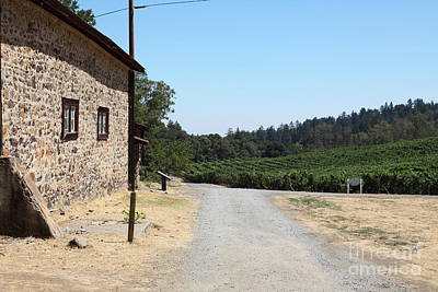 Photograph - Sherry Barn At Historic Jack London Ranch In Glen Ellen Sonoma California 5d24528 by Wingsdomain Art and Photography