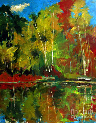 Shes Like A Lake In Autumn Original by Charlie Spear