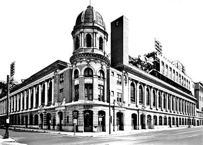 Philadelphia Phillies Stadium Photograph - Shibe Park by Benjamin Yeager