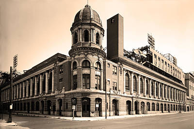 Philadelphia Phillies Stadium Photograph - Shibe Park  by Bill Cannon