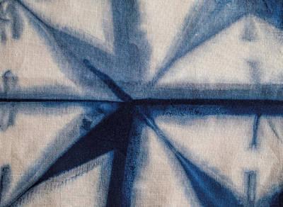 Hippies Painting - Shibori 12 by Aimee Stewart