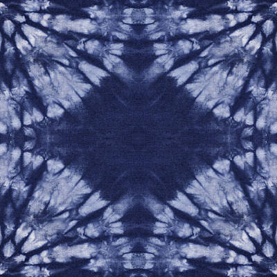 Abstract Painting - Shibori 7 by Aimee Stewart