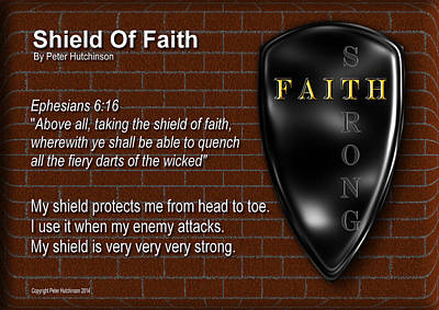 Shield Of Faith Art Print
