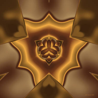 Digital Art - Shielded By Love by Judi Suni Hall