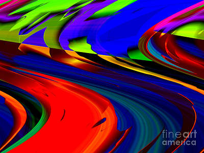 Digital Art - Shifting  by Kristi Kruse