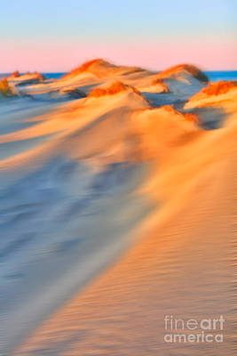 Photograph - Shifting Sands - A Tranquil Moments Landscape by Dan Carmichael