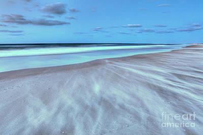 Shifting Sands On Frisco Beach Outer Banks I Art Print by Dan Carmichael