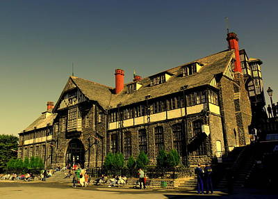 Photograph - Shimla City Hall by Salman Ravish