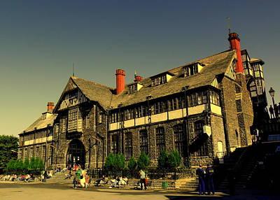 Photograph - Shimla City Hall by Salman Ravish