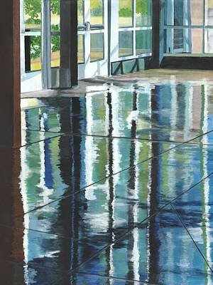 Painting - Reflections by Alika Kumar