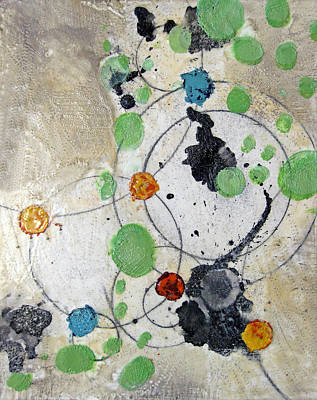 Earthy Art Mixed Media - Shimmer Id# E-1345 by Shirley Williams