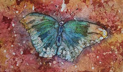 Shimmer Wings Art Print by Ruth Kamenev