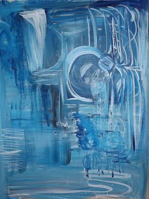 Shimmering Blue Original