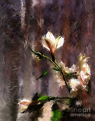 Shimmering Bouquet Art Print