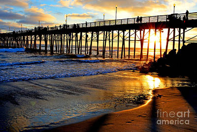 Photograph - Shimmering Pier by Third Eye Perspectives Photographic Fine Art