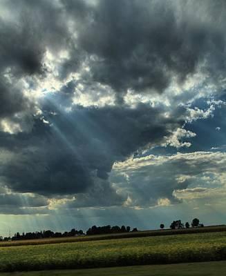 Shining Down Photograph - Shine by Dan Sproul