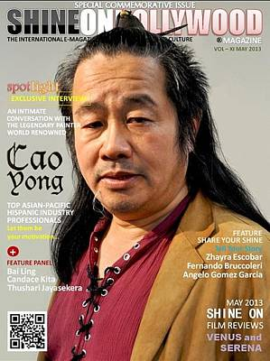 Photograph - Shine On Hollywood Magazine Cover by Cao Yong