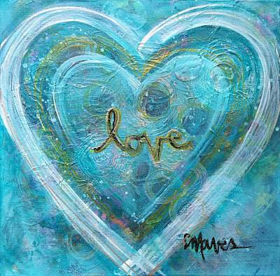 Painting - Shine The Light Of Love by Laurie Maves ART