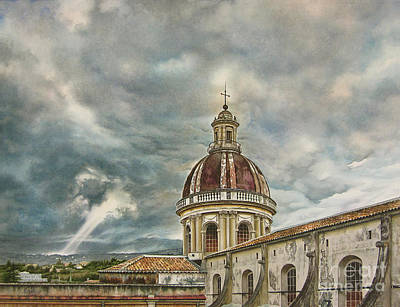 Sicily Painting - Shine Your Light In The Darkness by Mara  Mattia
