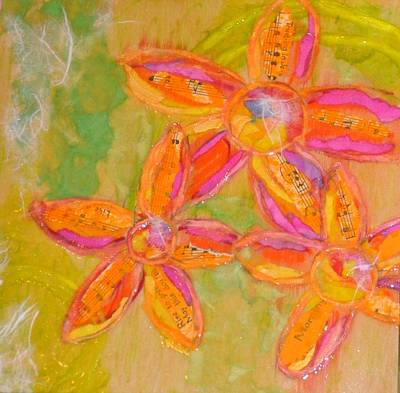Shineflowers Original by Jane Rochelle