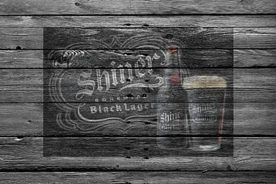 Hop Photograph - Shiner Black Lager by Joe Hamilton