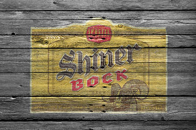 Handcrafted Photograph - Shiner Bock by Joe Hamilton