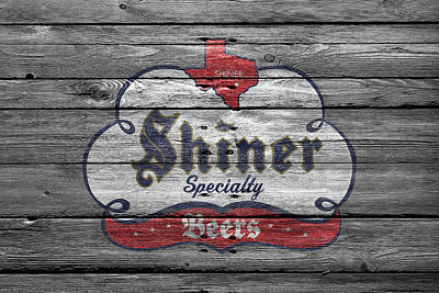 Handcrafted Photograph - Shiner Specialty by Joe Hamilton