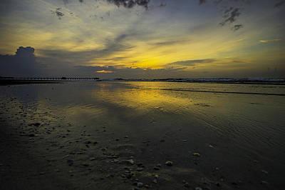 Digital Art - Shiney Beach Surf by Michael Thomas