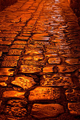 Photograph - Shining Cobblestones by Alexey Stiop
