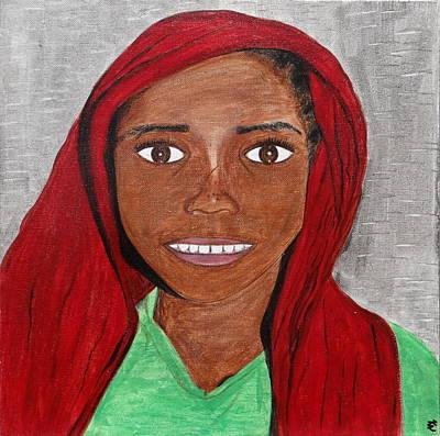 Covered Head Painting - Shining Light by Kurler Warner