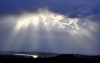 Photograph - Shining Through by AJ  Schibig